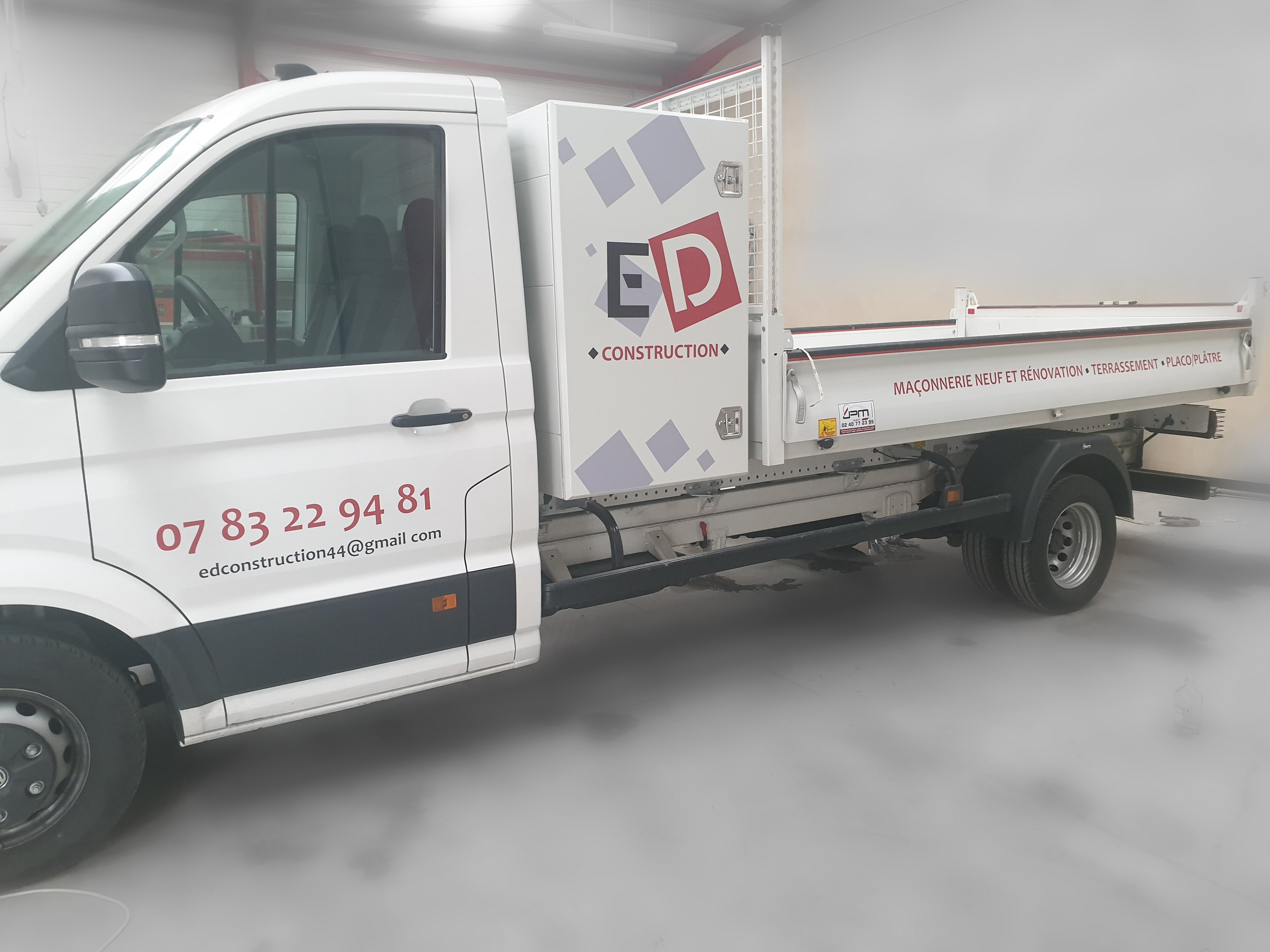 Camion ED Construction