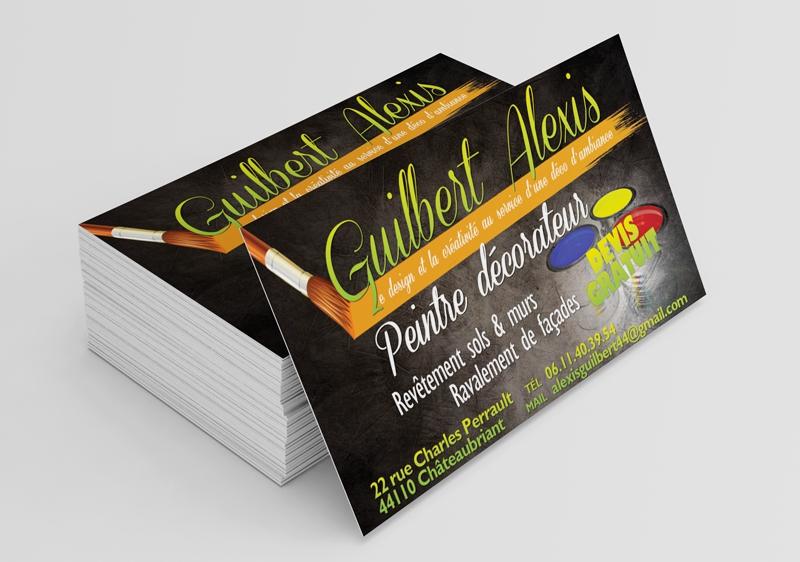 Cartes De Visite Lentreprise Guilbert
