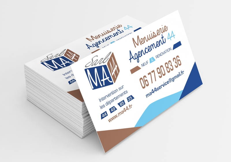 Cartes De Visite Lentreprise MA44