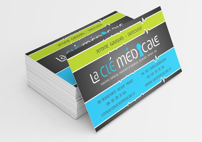 Cartes De Visite La Cle Medicale