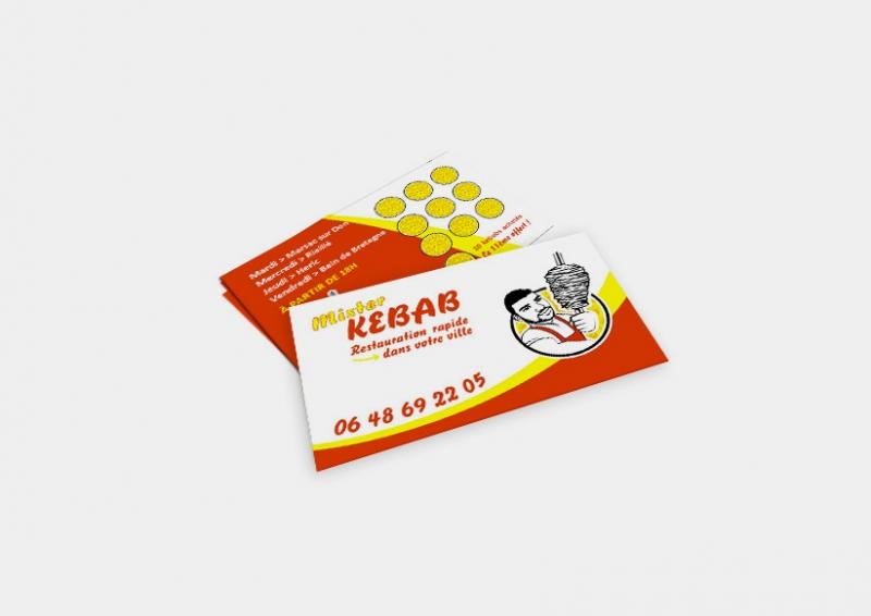 Cartes De Visite Mister Kebab