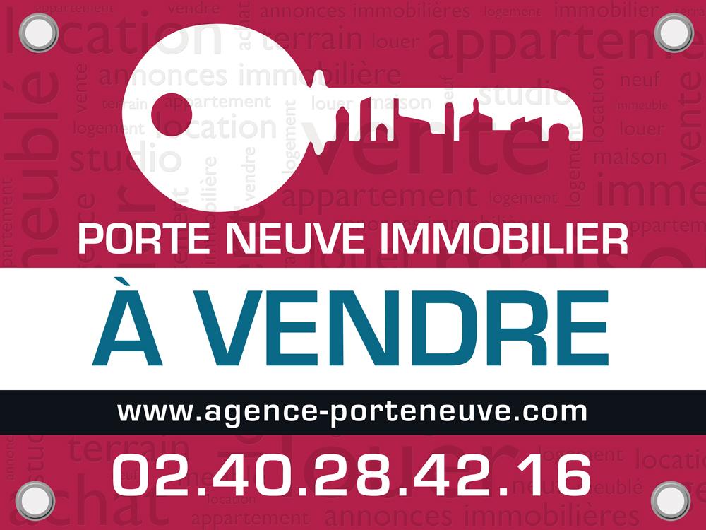Panneaux immobiliers pour l 39 agence porte neuve for Porte neuve chateaubriant