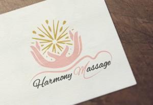 Carte De Visite Harmony Massage Realisation Cartes Pour Praticienne Certifiee En Bien Etre
